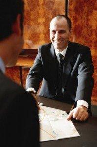 concierge desk work and job
