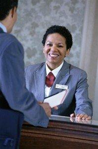 hotel clerk job